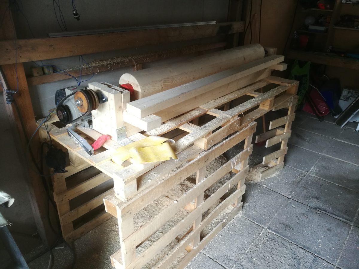 Tee-se-itse sorvi sekä wooden dummyn rakentaminen